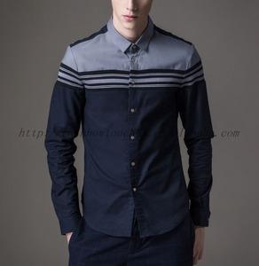 New design model new arrival shirt in guangzhou garment