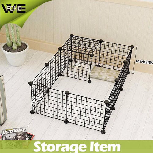 Dog Animal Playpen Large Metal Wire Yard Fence 12 Panels( Fh-alw0012 ...