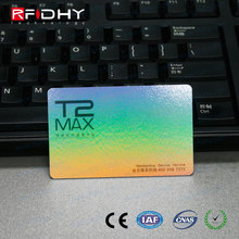 Add Unique Barcodes Customized PVC Clear Plastic Business Cards