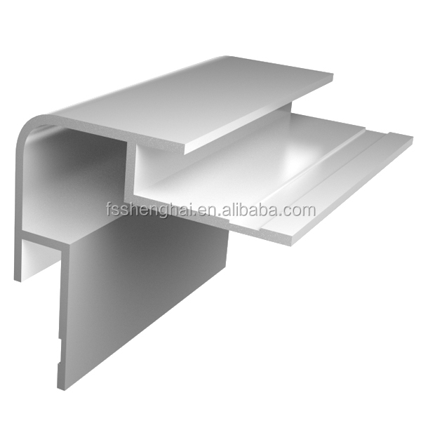 6063 T5 aluminum external corner tile trim triangle aluminum extrusion profile