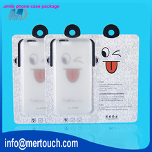 packaging box for mobile phone plastic PVC retial box packaging for iphone 4 5 6 6plus cellphone cover case