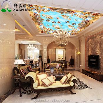Innenwandmalereien Anpassen Design Schöne Decke Wallpaper Günstige