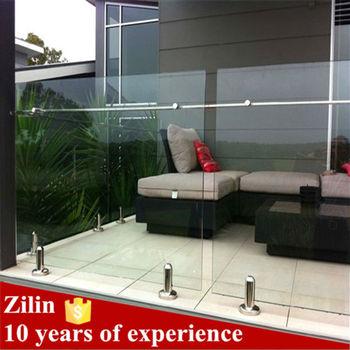 97c74acb7227 Decorative Tempered Glass Railing/decorative Porch Railing Glass ...