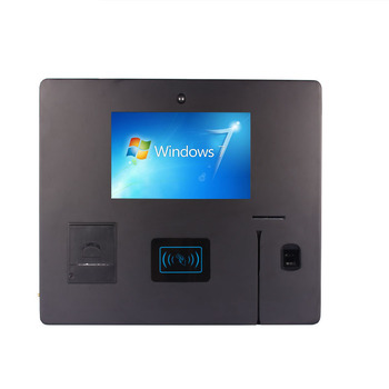 High Quality Custom Logo Hotel Self Service Check In Kiosk Contactless Ic / Rfid Kiosk