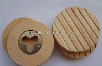 2014 newest hot sales wooden coasters opener bottle opener coaster buy wooden coasters. Black Bedroom Furniture Sets. Home Design Ideas
