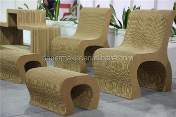 Customized Shape Design Cardboard Chair Buy Corrugated Cardboard