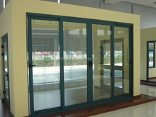 Customized aluminum double glazed doors photos