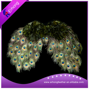 New fashion peacock feather decorations wing buy fashion for Where can i buy peacock feathers craft store