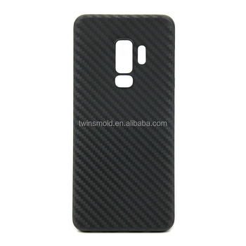 For Samsung Galaxy S9/S9 Plus Phone Case, Newest Slim Carbon Fiber Texture Protective Cell Phone Case
