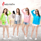 Simple useful sun protection spf shirts women sun protective clothing