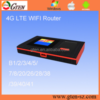 2017 New TDD FDD LTE OEM customize band best 4g wifi router