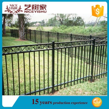 Made In China Cast Aluminum Fence/used Chain Link Fence For Sale/Cheap  Garden