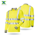 LX717 Long Sleeve Road Signs Reflective Safety Polo Shirt
