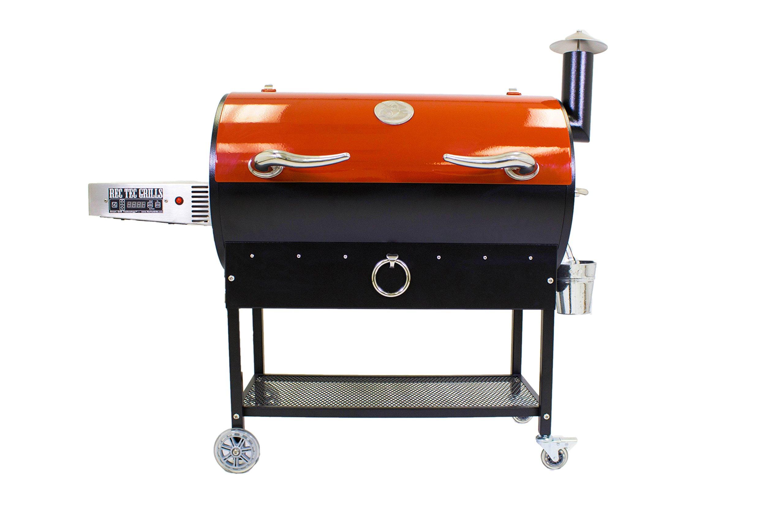 REC TEC Wood Pellet Grill - Featuring Smart Grill Technology™