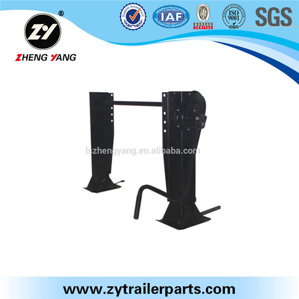 low price spare parts 80t trailer manual jack 24t and 28t landing gear
