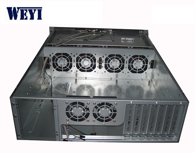 Steel Material and With Side Panel Window Style 3u rackmount server case