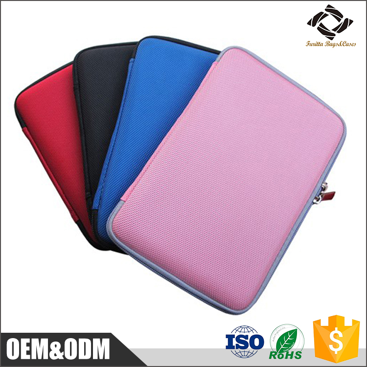 Pink lovely girl notebook bag EVA waterproof laptop protective shock-proof case for IPAD