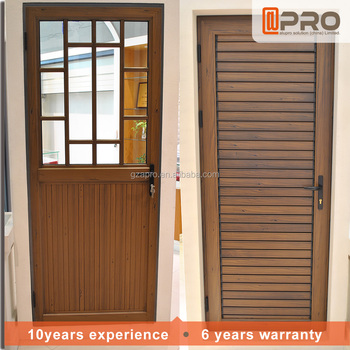 Waterproof Design Aluminium Louver Door With Operable Louvers For - Bathroom doors waterproof