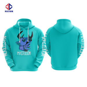 High quality custom print sublimation hoodies unisex.