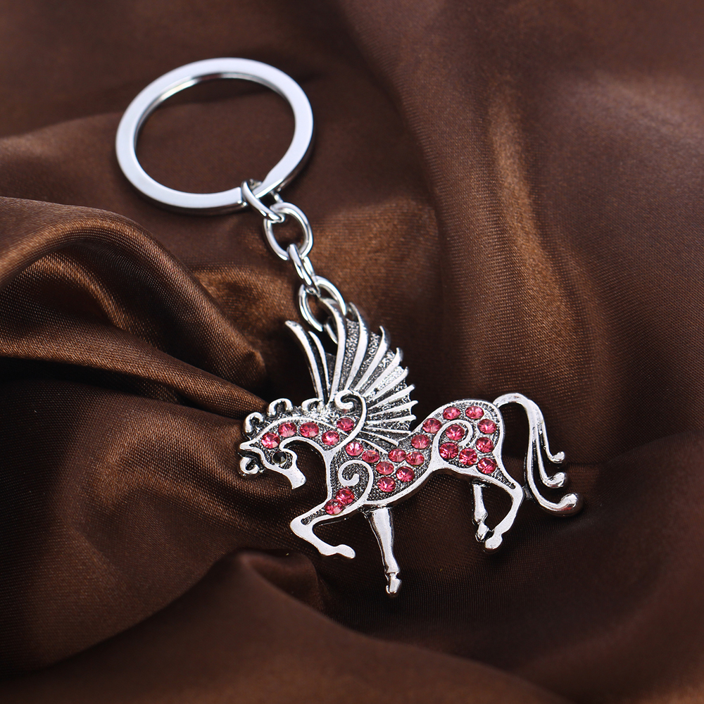 """or Unicorn necklace /""""antique silver/"""" Handmade Pegasus flying horse"""