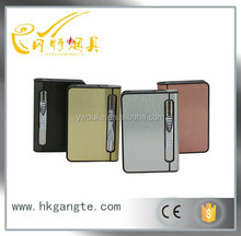 GT-08007 metal cigarette case with lighter