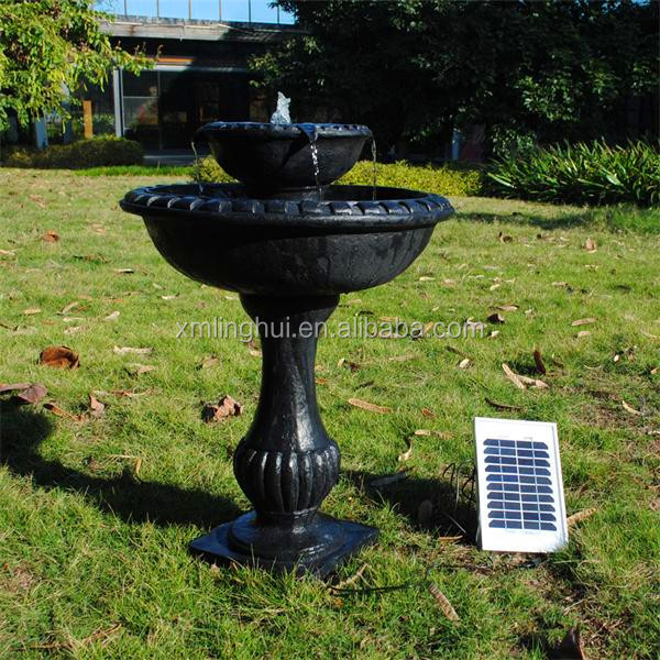 Large Outdoor Water Fountain/Ornaments Solar Water Fountain