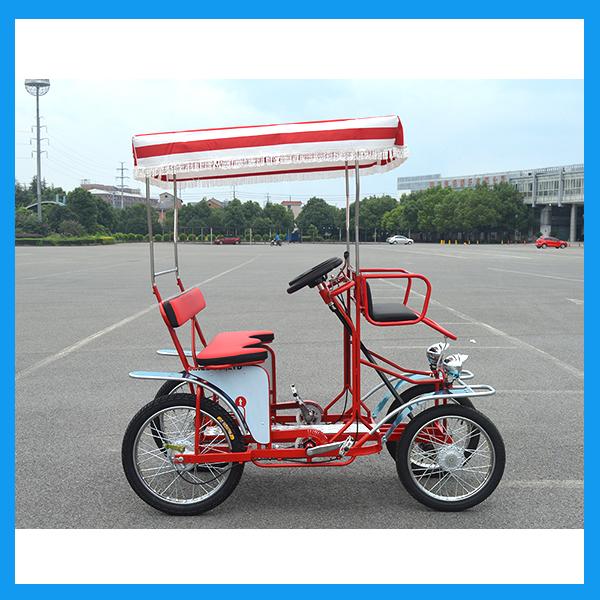 4 ruedas de Dos Personas Caravana Surrey Bicicleta Fabricante ...