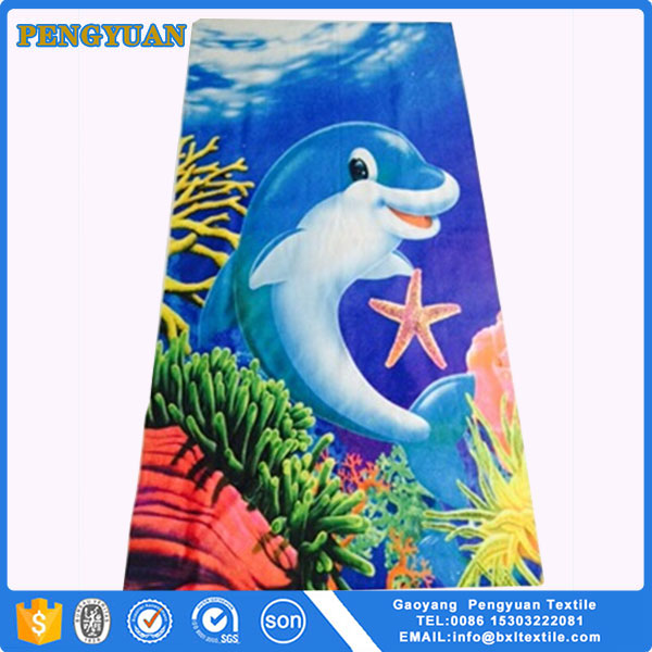 Famous Brand Fashion Customized Printed Microfiber Beach Towel