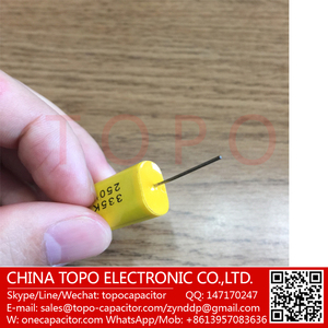 Audio coupling capacitors 100uf 250V MKP metallized polyester film capacitor