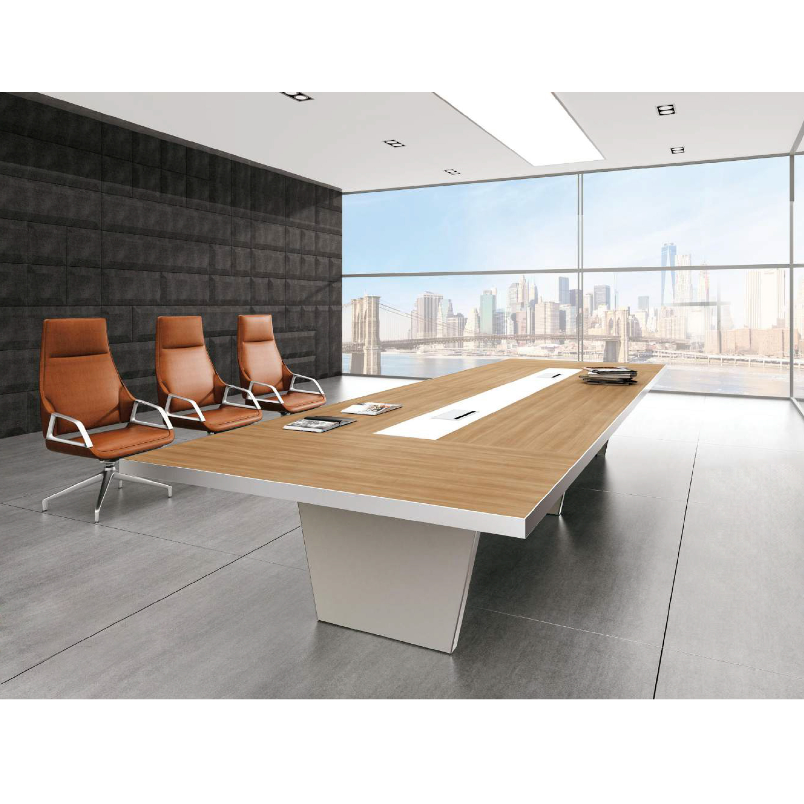 China Factory 42 Person Seater Modern Office Conference Table