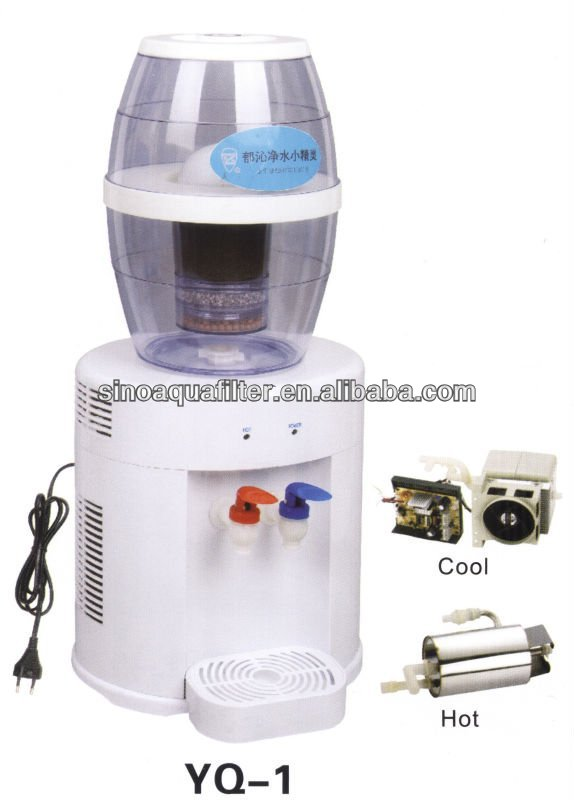 WUHU ECOTECH water mineral pot within cool and heat system YQ-1