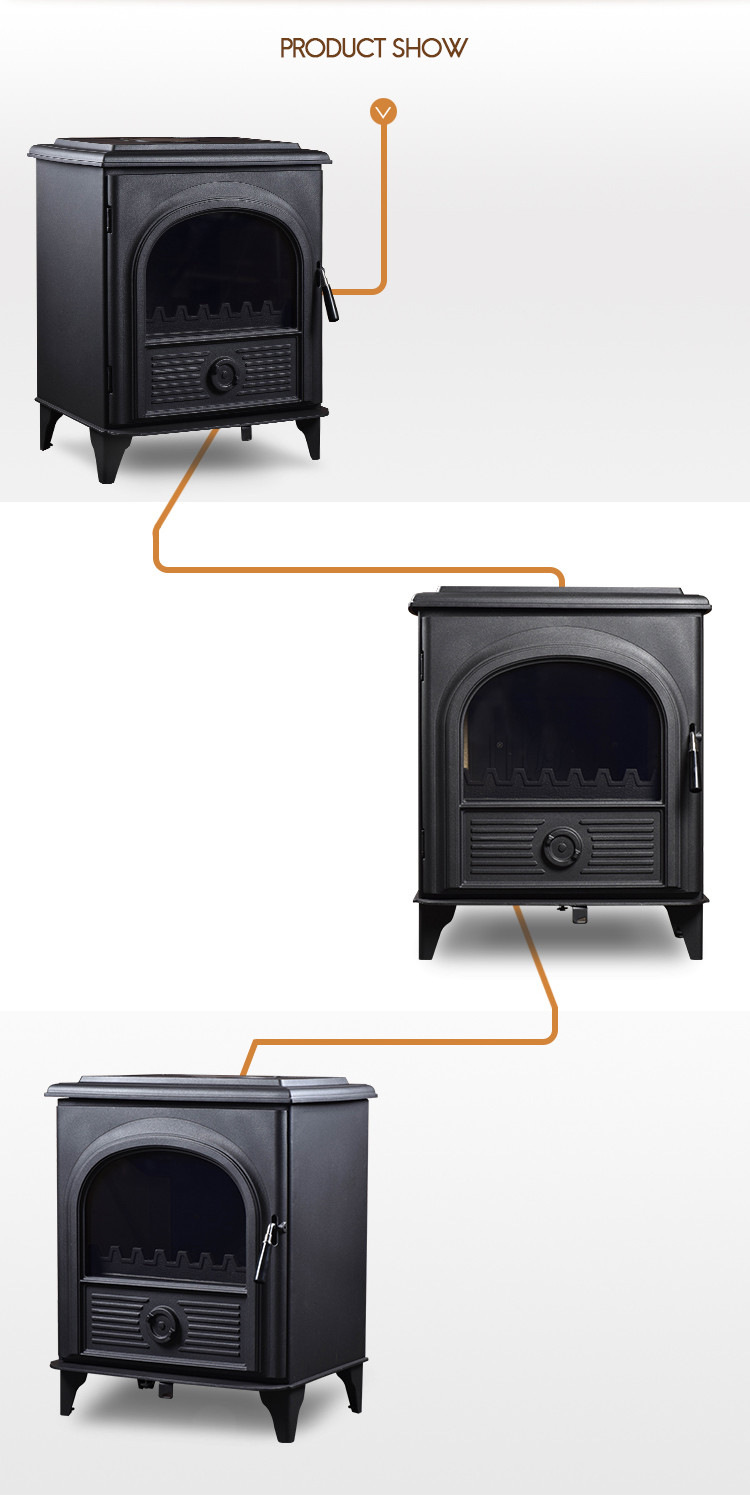 Cheap price modern indoor fireplace for wood burning stove