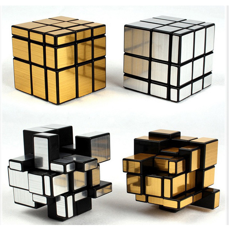 Good wholesale price 3x3 mirror cube educational toy magic puzzle cube