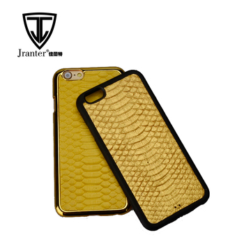 Bulk Customized Genuine Exotic Snakeskin Leather Cell Mobile Phone Cases