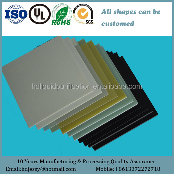 Fr4 G10 G11 Colored Epoxy Glass Sheet