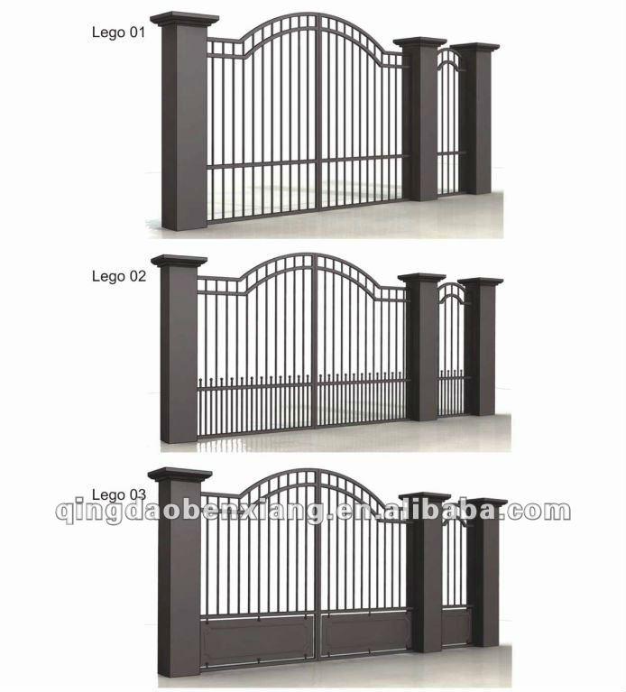 Bx battuto cancello in ferro di disegno porta id prodotto