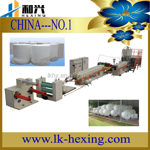 HXPSP-100/130 Hot Polystyrene Foam Sheets in rolls Making Machine