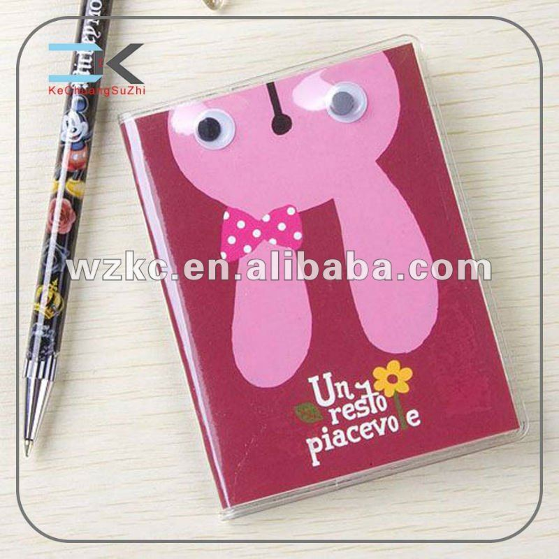 new diary notebook with pen