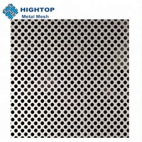 Decorative Stainless Steel Round Hole Perforated Sheet M2 Price