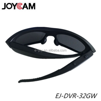 67546b8d8d Small HD Hidden Video Camera Hunting Sunglass Camera waterproof with WIFI