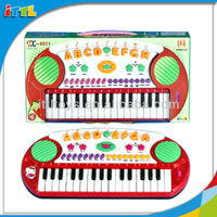 A566206 Battery Operated Music Keyboard Instrument Electronic Toy Keyboard