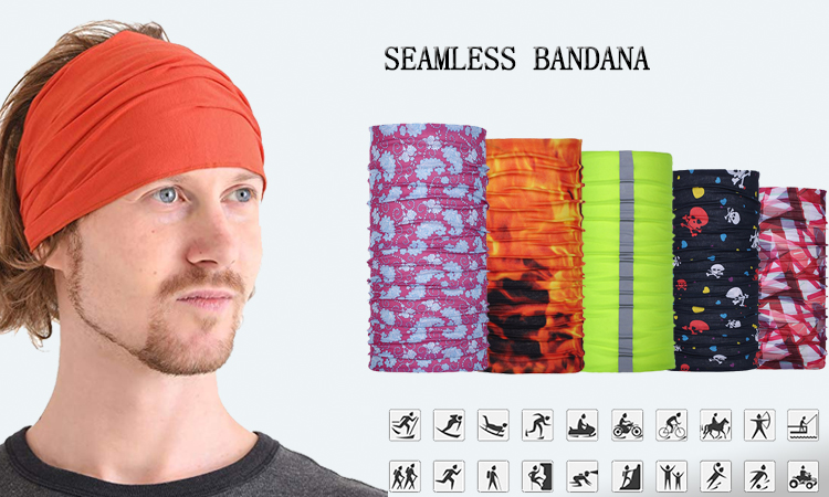 Outdoor Sports Multifunctional Bandana Magic Seamless Bandana