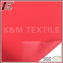 Outdoor Material 100% Nylon Red Twill PU Coating Taslan Fabric