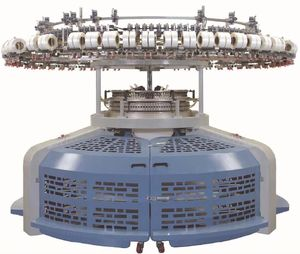 High Speed interlock rib Circular Knitting Machine