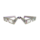 Extremely Exquisite Made Paper Craft 3D Glasses,Original Design Manufacture 3D Anaglyph Polarized Glasses
