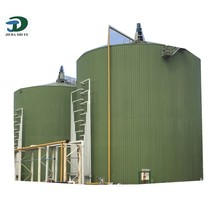 Hot Price Slaughter Waste Biogas Plant Machinery, Anaerobic Biogas Reactor, Large Scale Biogas Project