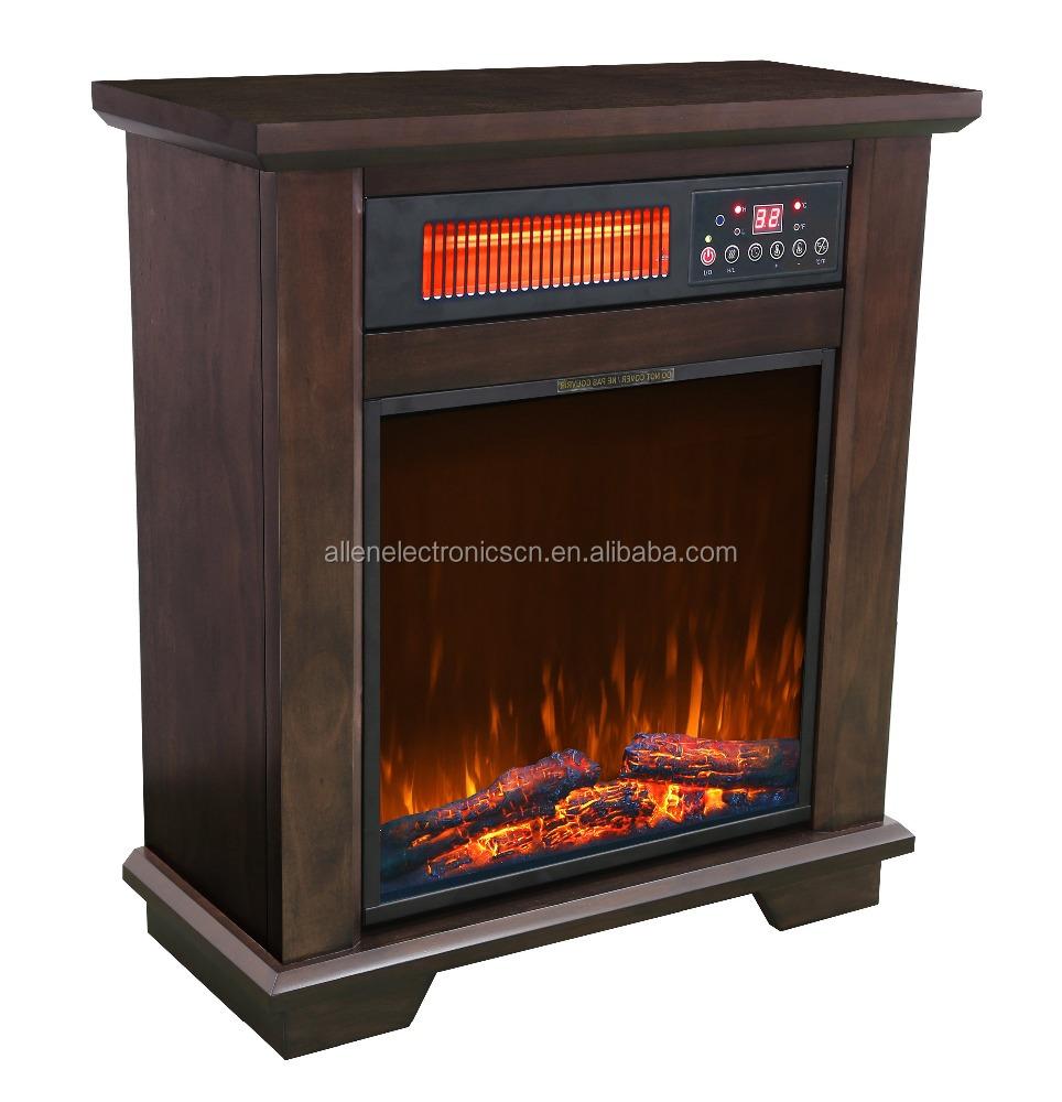 Etl approvato cabinet in legno del quarzo a raggi - Camino portatile ...