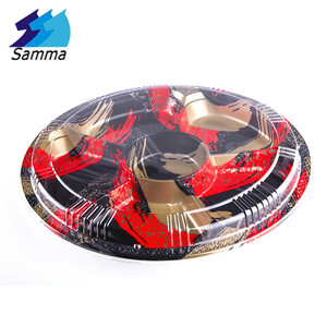 SM1-2101FB PS Tray OPS Lid Blister Plastic Seafood Box Disposable Sushi Tray