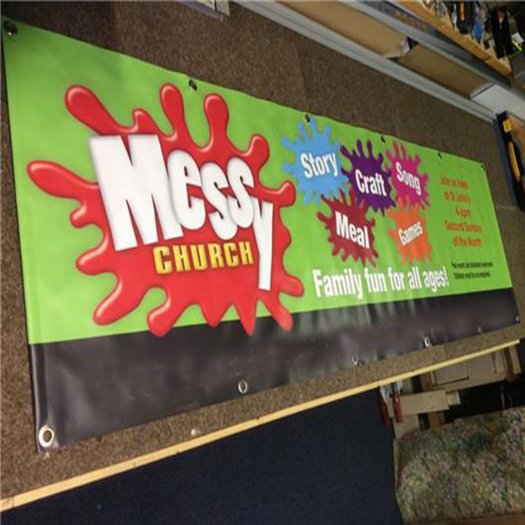 Cheap price design promotion pvc large size flex banner Inkjet removable vinyl banner printing for advertising