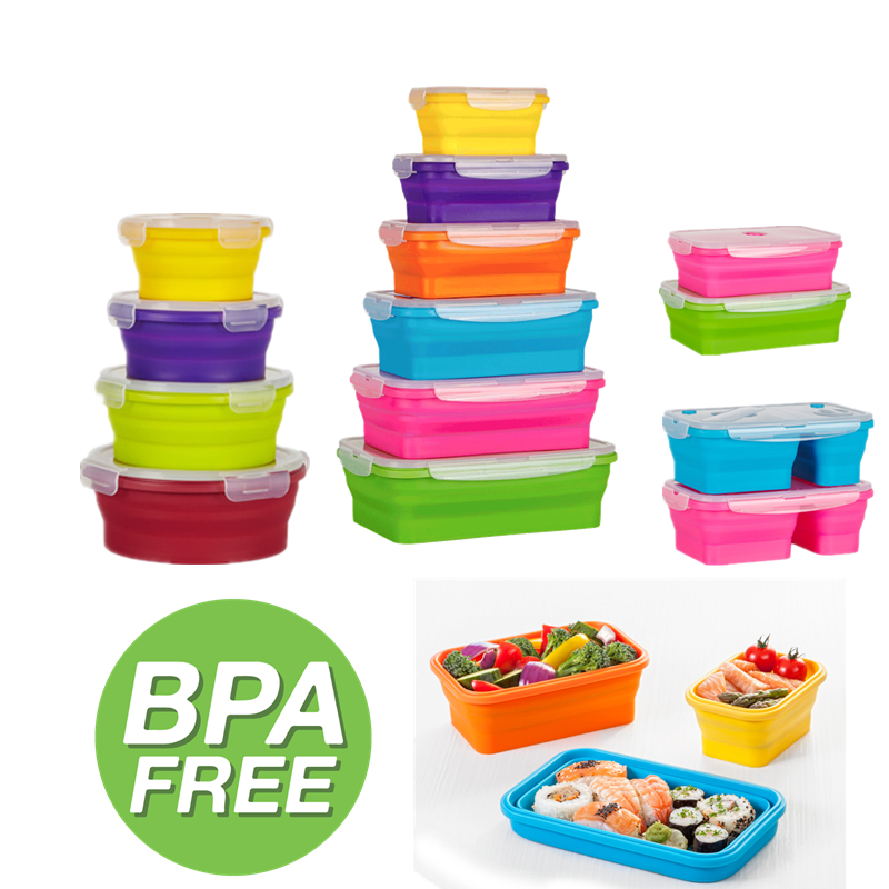 Collapsible Silicone Food Storage Containers Buy Silicone Food